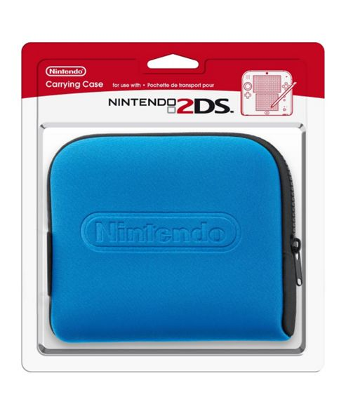 Nintendo 2DS Carrying Case Blue