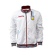 2013-14 Aston Villa Matchday Anthem Jacket (White) - White