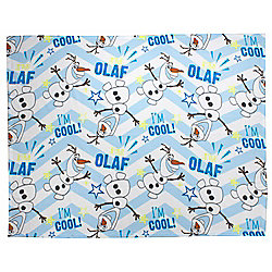 Disney Frozen Olaf 'I Am Cool' Rotary Fleece Blanket
