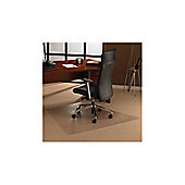 Floortex Cleartex Ultimat Polycarbonate Chair Mat or General Office Mat - 129cm x 150cm