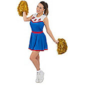 American Cheerleader Costume Large
