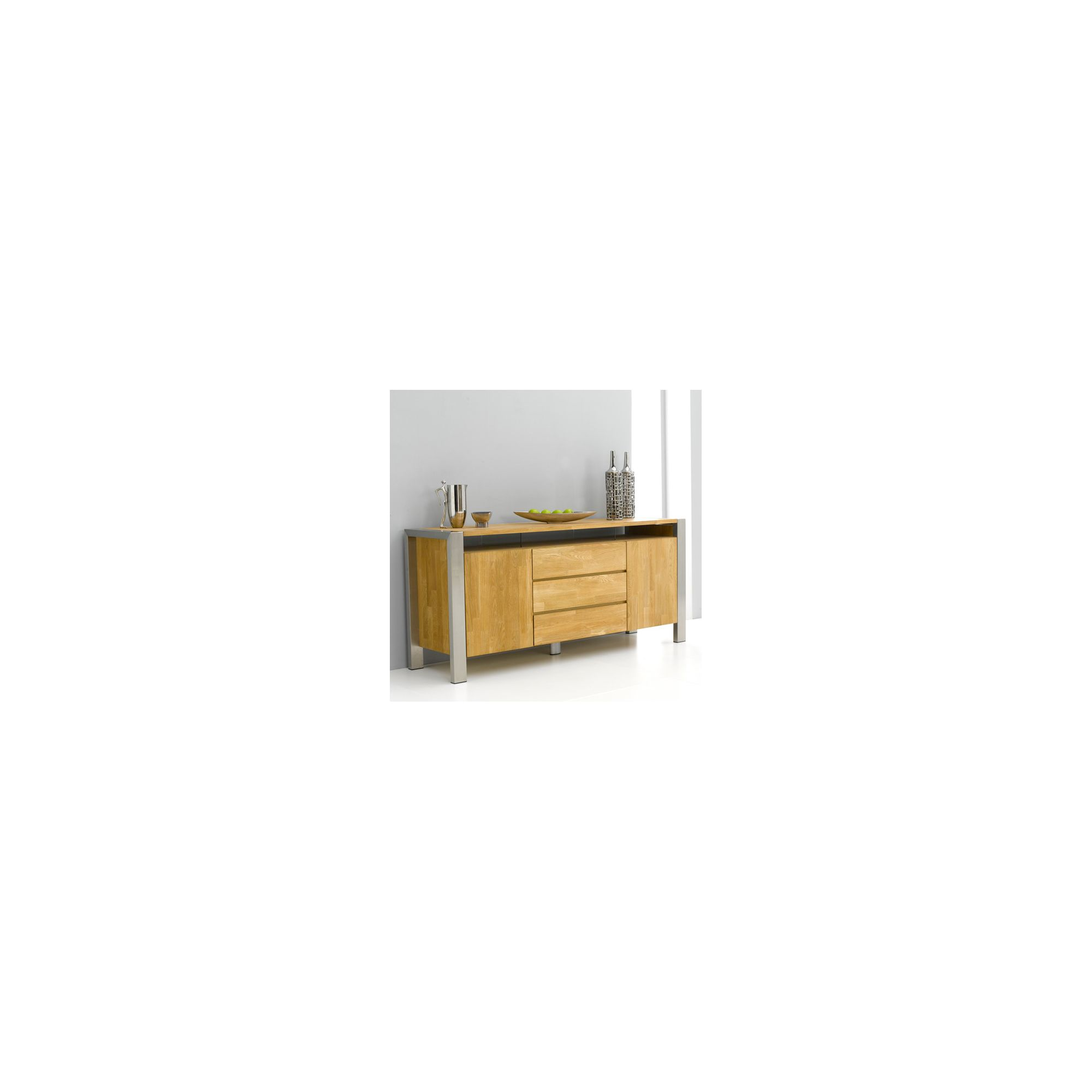 Mark Harris Furniture Ohio Sideboard in Solid Oak at Tesco Direct