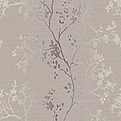 Precious Metals Orabella Wallpaper - Rose Gold - Arthouse 673403