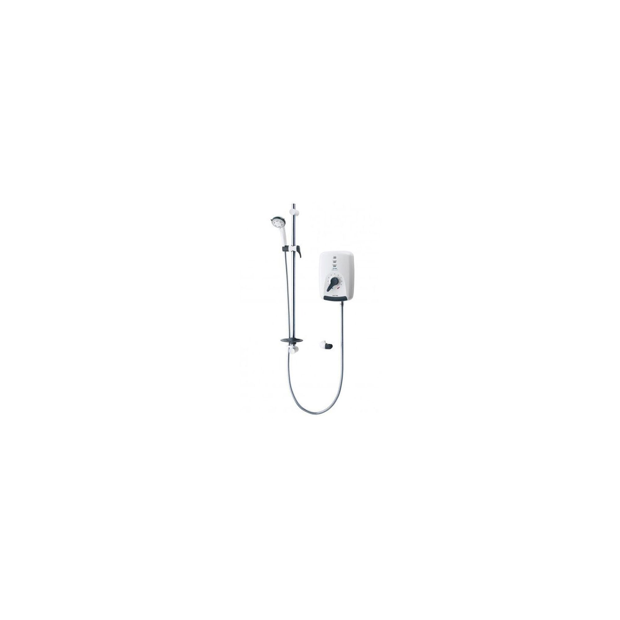 Triton Safeguard Care Electric Shower 8.5kw White and Chrome at Tesco Direct