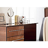 Ideal Furniture New York Single Dressing Table - American Walnut