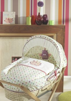 Lollipop Lane Prickles And Twoo Moses Basket