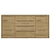 Gobi 2 Door 4 drawer wide sideboard