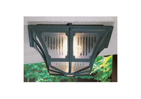 Elstead Lighting Chapel Flush Light - Black