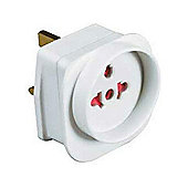 Masterplug Tourist Travel Mains Adapter