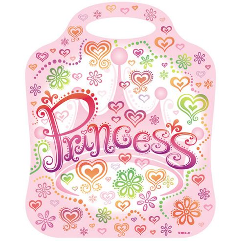 Princess Diva Party Plastic Party Bags (8pk)