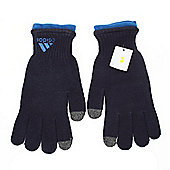 Adidas Unisex Winter Sporting Gloves Touch Screen Compatible - Blue