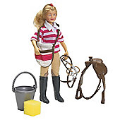 Breyer Saddle Up Eva Doll Set