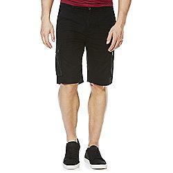 F&F Cargo Shorts Waist 34 Black