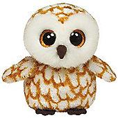"""Ty Beanie Boo 6"""" Plush - Barn Owl Swoops"""