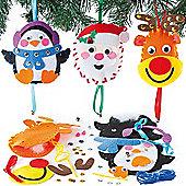 Christmas Character Decoration Sewing Kits(3 Pcs)