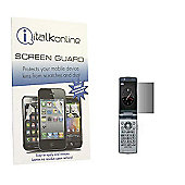 S-Protect LCD Screen Protector & Micro Fibre Cleaning Cloth - BlackBerry 8220 Flip Pearl