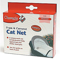 Clippasafe Pram and Carrycot Cat Net Medium