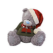 Me to You Tatty Teddy bear wearing Santa Jumper with Hat
