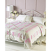 Rose Quilted Bedspread