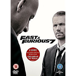 Fast & Furious 7 - Exclusive to Tesco (Includes bonus disc)