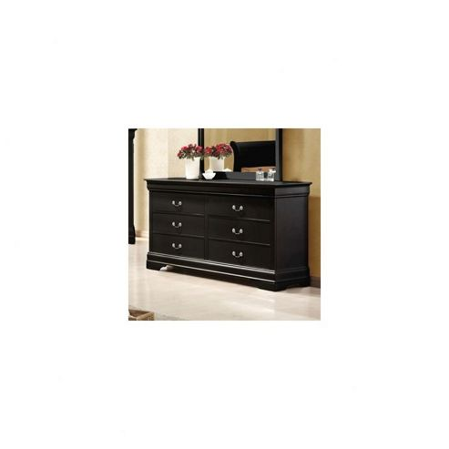 Elements Zurich 6 Drawer Chest - Black
