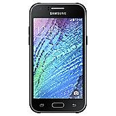 Tesco Mobile Samsung J1 Black & Selfie Stick