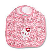 Baby Boum Triple Large Triple Lined & Waterproof Bib (Kitty)