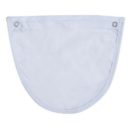 Tippitoes Baby Carrier Dribble Bib (White)