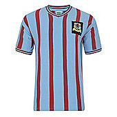 Aston Villa 1957 FA Cup Final Shirt Sky Blue L