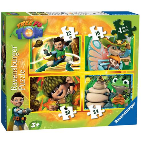 Ravensburger Tree Fu Tom In Box