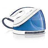 Philips GC7015 PerfectCare Viva 2400w Steam Generator Iron in White and Blue