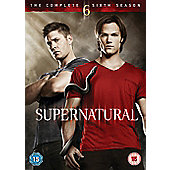 Supernatural - Series 6 - Complete (DVD Boxset)