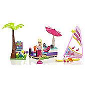 Mega Bloks Barbie Build 'n Play Beach Day