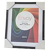 "Kenro Envoy Slimline Black Photo Frame 12x10"" or 8x10"" Photos."