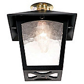 Elstead Lighting York Flush Porch Lantern