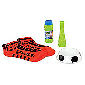 Messi Footbubbles Starter Pack With Socks - Red
