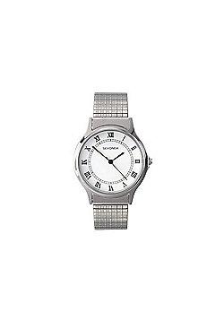 Sekonda Unisex Stainless Steel Expander Bracelet Watch