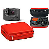 Navitech Red Shock Proof Hard Storage Case / Cover For The GoPro Hero 5