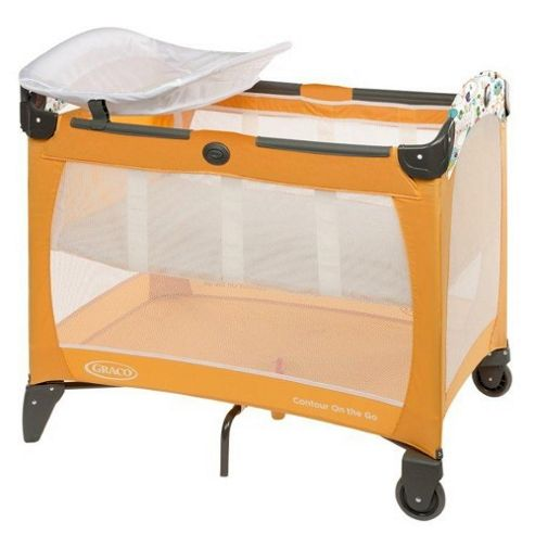 Graco Contour On the Go Travel Cot (Hide and Seek)