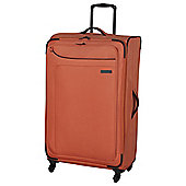 IT Luggage Megalite 4-Wheel Suitcase, Coral Rose Large
