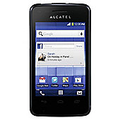 Virgin Media Alcatel One Touch T'Pop Black