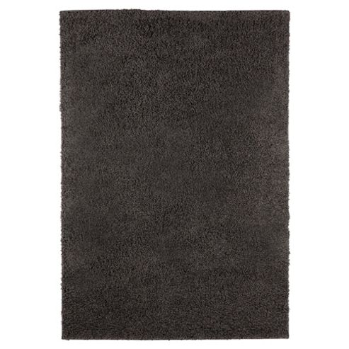 Tesco Alpine Shaggy Rug Charcoal 80X150Cm,