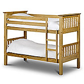 Shaker Style Antique Pine Finish Bunk Bed