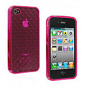 Glacier iPhone 4 Quilted Case Pink