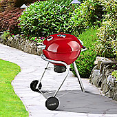 Outback Charcoal 57cm Kettle Barbecue - Red