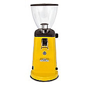 Ascaso MIN5UK i1 Colour Aluminium Coffee Grinder - Sun Yellow