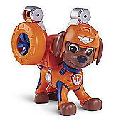 Paw Patrol Air Rescue Pup Figure with Badge - Zuma