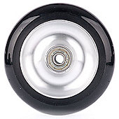 Metallic Silver Stunt Scooter Wheel + ABEC 9 Bearings