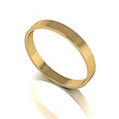 9ct Gold 5mm D Flat Wedding Band