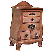 Chelsea - Antiqued Mini Storage Drawers - Light Brown
